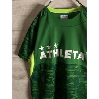 ATHLETA - ATHLETA アスレタ ポリシャツ 総柄