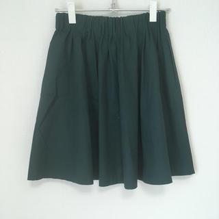 ローリーズファーム(LOWRYS FARM)のグリーンの膝丈スカート(ひざ丈スカート)