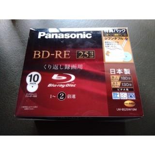 パナソニック(Panasonic)の《録画用ブルーレイ》Panasonic LM-BE25W10M(DVDレコーダー)