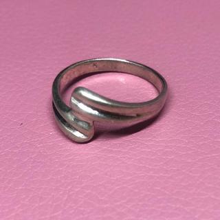 シルバー925 リング  シンプル ギフト 銀 指輪 ご褒美 お洒落 誕生日(リング(指輪))
