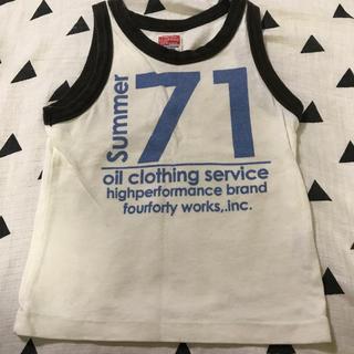 オイル(OIL)のOIL CLOTHING オイル タンクトップ 100(Tシャツ/カットソー)