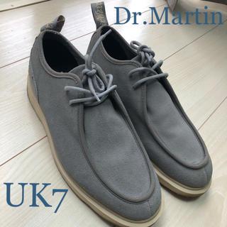 ドクターマーチン(Dr.Martens)のDr.Marten ドクターマーチンTORRIANO スエード シューズ グレー(その他)