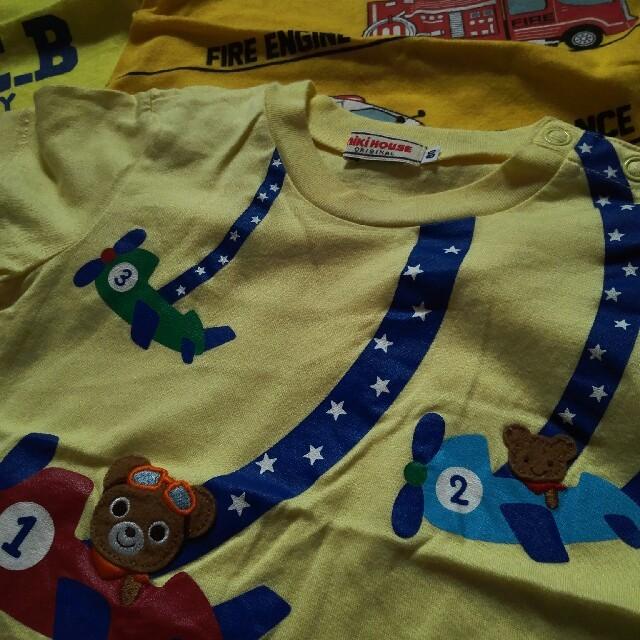 DOUBLE.B(ダブルビー)の男児 80㎝半袖Tシャツセット キッズ/ベビー/マタニティのベビー服(~85cm)(Tシャツ)の商品写真