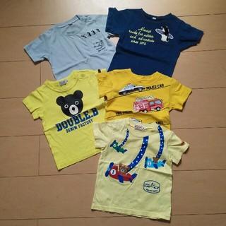 DOUBLE.B - 男児 80㎝半袖Tシャツセット