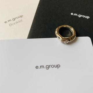イーエム(e.m.)のe.m. em イーエム ピンキーリング(リング(指輪))