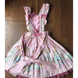 Angelic Pretty - AP Wonder Galleryエプロン風スカート