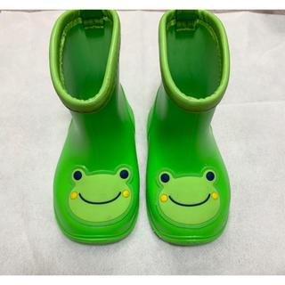 かえる ベビー 長靴 レインブーツ 13cm(長靴/レインシューズ)