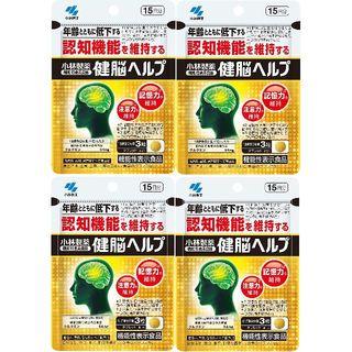 コバヤシセイヤク(小林製薬)の小林製薬 健脳ヘルプ 15日分x4袋(その他)