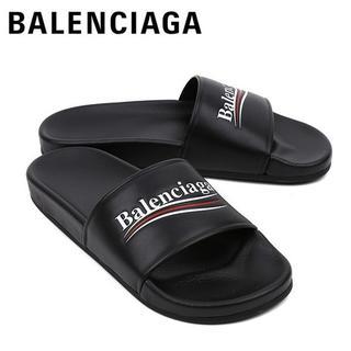 バレンシアガ(Balenciaga)の3 BALENCIAGA サンダル シャワーサンダル ブラック size 42(サンダル)