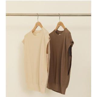 TODAYFUL - 【新品未使用タグ付】Sleeveless Linen Knit