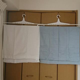 ムジルシリョウヒン(MUJI (無印良品))の無印良品 MUJI 薄手バスタオル 2色セット(タオル/バス用品)
