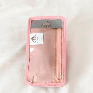 アディダス(adidas)の新品未使用 adidas ランニング用携帯ケース pink(その他)