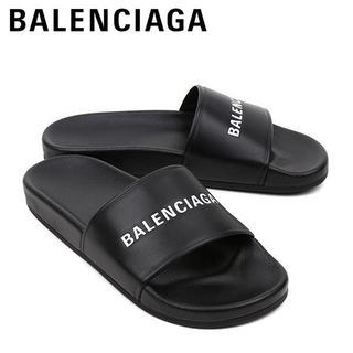 バレンシアガ(Balenciaga)のL2 BALENCIAGA サンダル シャワーサンダル ブラック size 39(サンダル)