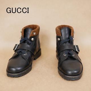 グッチ(Gucci)のキッズ用 GUCCI グッチ 28 ハイカットシューズ(ブーツ)