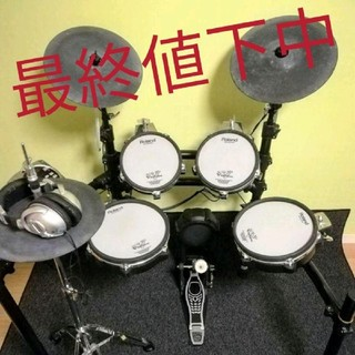 電車ドラム 消音マット Roland v-drums(電子ドラム)