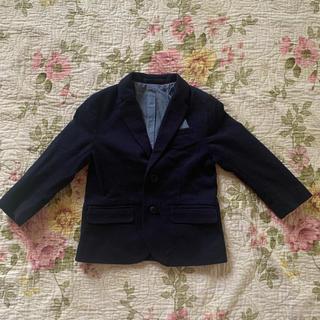 エイチアンドエイチ(H&H)の美品⭐️H&M 紺色ジャケット 80-90(ジャケット/上着)