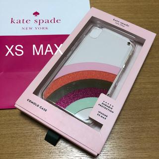 ケイトスペードニューヨーク(kate spade new york)の新品 ケイトスペード iPhoneXS MAXケース(iPhoneケース)