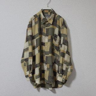 ニードルス(Needles)のused mulch pattern shirt(シャツ)