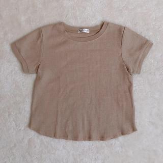 フタフタ(futafuta)のfutafuta フタフタ ワッフルTシャツ 120cm(Tシャツ/カットソー)