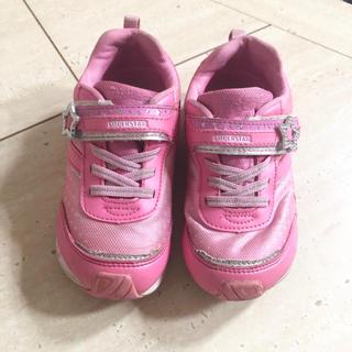 ムーンスター(MOONSTAR )のsuperstar  女の子 靴 18cm(スニーカー)
