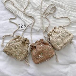 ザラ(ZARA)の巾着 ミニバッグ 韓国(ショルダーバッグ)