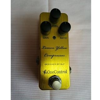 ボス(BOSS)のワンコントロール Lemon Yellow Compressor コンプ エフェ(エフェクター)