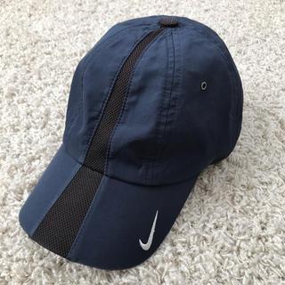 ナイキ(NIKE)の【NIKE】男児 キャップ 帽子 ネイビー メッシュ(帽子)