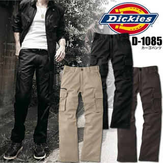 ディッキーズ(Dickies)の新品未使用 dickies カーゴパンツ 黒 ブラック L(ワークパンツ/カーゴパンツ)