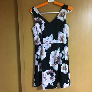 Delyle NOIR - デイライルノアール 花柄ワンピース