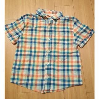 エイチアンドエム(H&M)のH&M チェック シャツ(Tシャツ/カットソー)