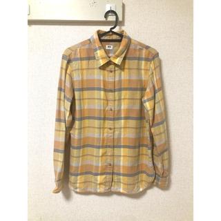 ユニクロ(UNIQLO)のユニクロ レディース チェックシャツ(シャツ/ブラウス(長袖/七分))