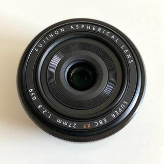 フジフイルム(富士フイルム)の新品同様 送料無料 富士フイルム FUJIFILM XF 27mm F2.8(レンズ(単焦点))