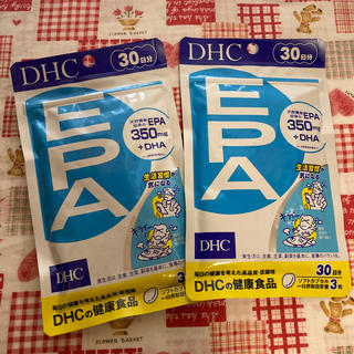 ディーエイチシー(DHC)のDHC EPA 30日分 2袋(その他)