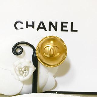 CHANEL - 正規品 シャネル イヤリング 片方 ゴールド ココマーク チェーン 丸 ロゴ 金