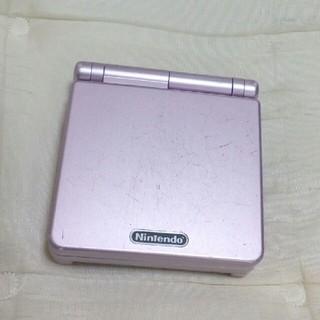 ゲームボーイアドバンス(ゲームボーイアドバンス)のゲームボーイアドバンスSP本体 ピンク(携帯用ゲーム機本体)