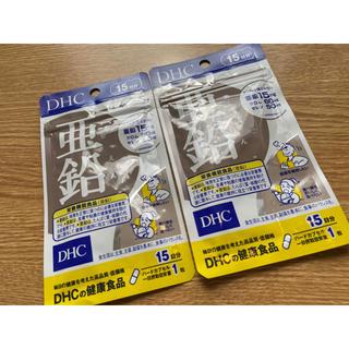 ディーエイチシー(DHC)のDHC 亜鉛サプリ 15日分×2(その他)