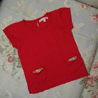 ボンポワン(Bonpoint)のUSED☆ボンポワン サイズ6 サマーセーター(Tシャツ/カットソー)