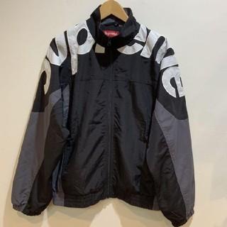 Supreme - supreme sholder Logo track jacket M 黒 19