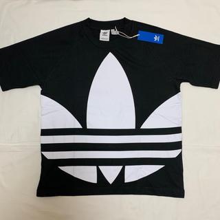 アディダス(adidas)の新品 アディダス オリジナルス  ビッグ トレフォイル ボクシー Tシャツ XL(ウエストポーチ)
