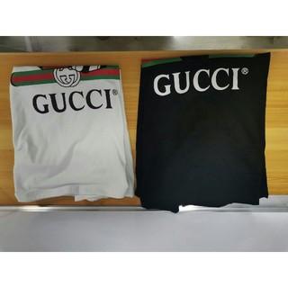 シュプリーム(Supreme)の大人気 GUUCI Tシャツ 半袖 春夏 2枚セット mm(Tシャツ(半袖/袖なし))