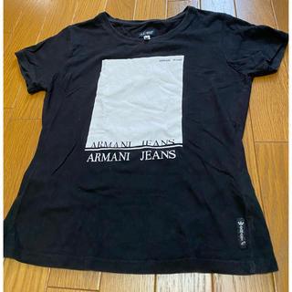 アルマーニジーンズ(ARMANI JEANS)のアルマーニ ジーンズ  ARMANI JEANS  Tシャツ  サイズ38(Tシャツ(半袖/袖なし))