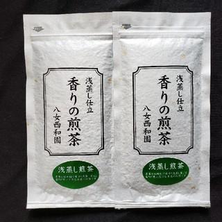 八女のお茶 香りの煎茶 100g 2袋(茶)