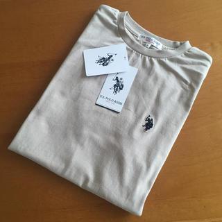 POLO RALPH LAUREN - 正規品 ラルフローレン好き us polo assn Tシャツ M ベージュ 新
