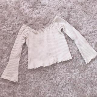 セシルマクビー(CECIL McBEE)の今週限定 レア white tops(カットソー(長袖/七分))