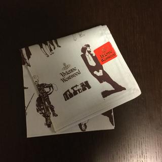 ヴィヴィアンウエストウッド(Vivienne Westwood)のヴィヴィアンウエストウッド ビンテージ赤タグ メンズファッションの歴史 サックス(ハンカチ)