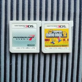 ニンテンドー3DS - New スーパーマリオブラザーズ 2 & マリオカート7