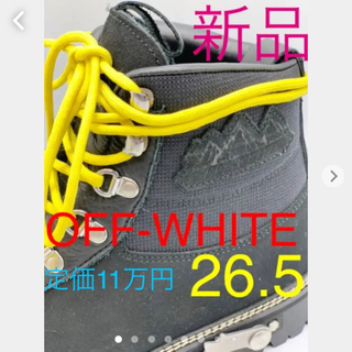 OFF-WHITE - OFF-WHITE オフホワイト HIKING CORDURA ブーツ 41