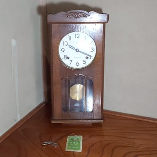 セイコー(SEIKO)のアンティーク ゼンマイ振り子時計 精工(掛時計/柱時計)