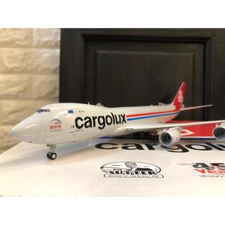 激レア 1/200 jcwings Cargolux B747-8F 郑州号(航空機)