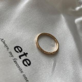 エテ(ete)のete ピンキーリング 5号(リング(指輪))